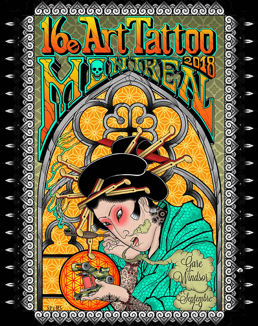 Art Tattoo Montreal 16e Art Tatttoo Montreal 2018